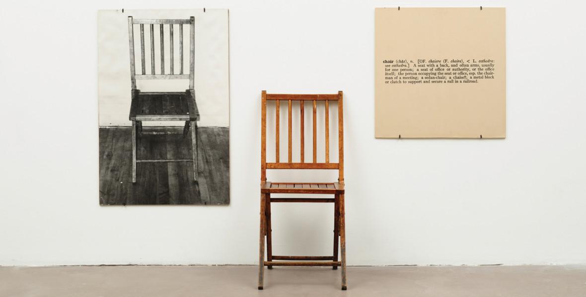 Joseph-Kosuth-One-and-Three-Chairs-1965