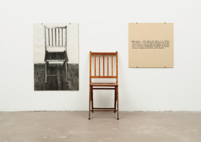 Joseph-Kosuth-One-and-Three-Chairs-1965